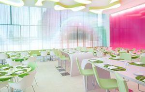 "Ресторан ""Ткани"" в отеле nhow Berlin"