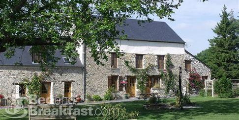 Небольшой отель BedandBreakfast во Франции