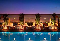 Mondrian Hotel в Лос Анжелесе