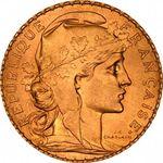 Jules Clement Chaplain создал 20 золотых франков