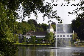 Отель в Бельгии на озере Genval